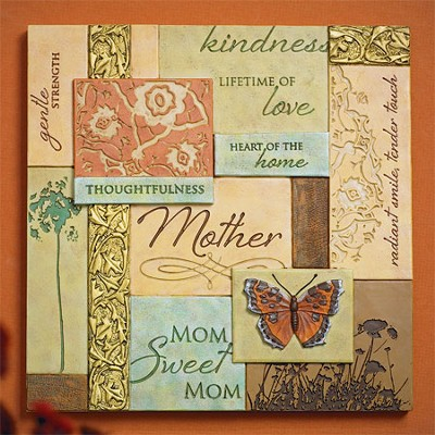 Mom Collage Plaque  -