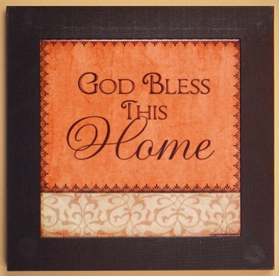 God Bless This Home Trivet  -