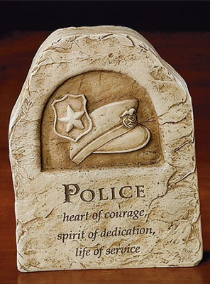 Police, Heart of Courage Plaque  -