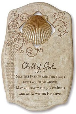 Child of God Baptism Plaque  -