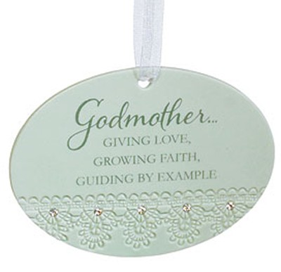 Godmother Giving Love Ornament  -