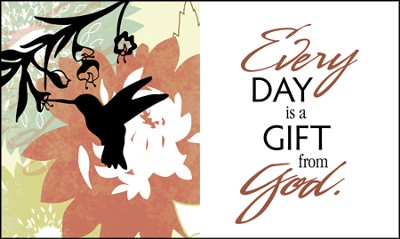 Every Day is a Gift Glass Plaque  -