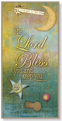 The Lord Bless You and Keep You Hook Plaque  -