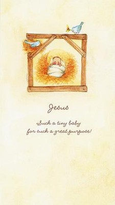Jesus Such a Tiny Baby Christmas Cards, Box of 16  -