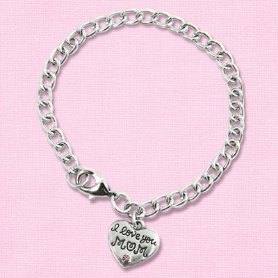 I Love You Mom Bracelet   -