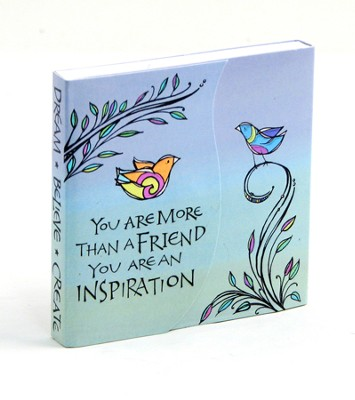 More Than A Friend Notepad   -     By: Joanne Fink