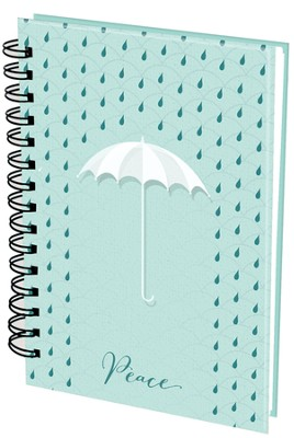 Peace Wirebound Journal  -