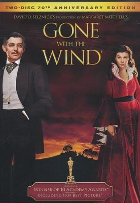 Gone with the Wind (1939), 2-DVD 70th Anniversary Edition   -