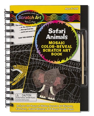 Drawing Book, Safari Animals  -