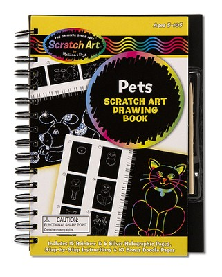 Drawing Book, Pets  -