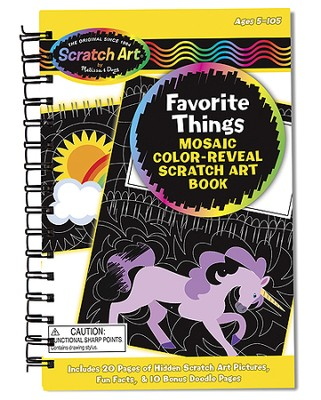 Drawing Book, Favorite Things  -