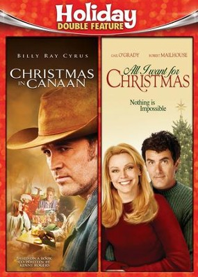 Christmas In Canaan/All I Want For Christmas, Double Feature DVD   -