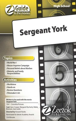 Sergent York  Movie Guide CD Z-Guide to the Movies  -