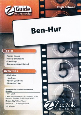 Ben Hur Movie Guide CD   -