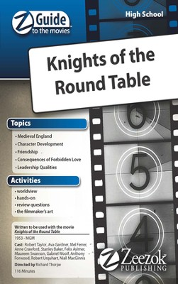 Knights of the Round Table Movie Guide CD Z-Guide to the Movies  -
