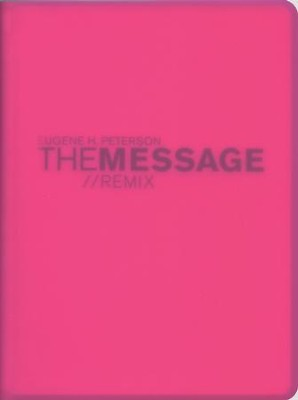 Message Remix 2.0 Hypercolor vinyl: Pink         -     By: Eugene H. Peterson