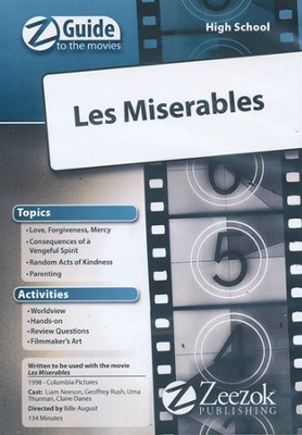 Les Miserables Movie Guide CD Z-Guide to the Movies  -