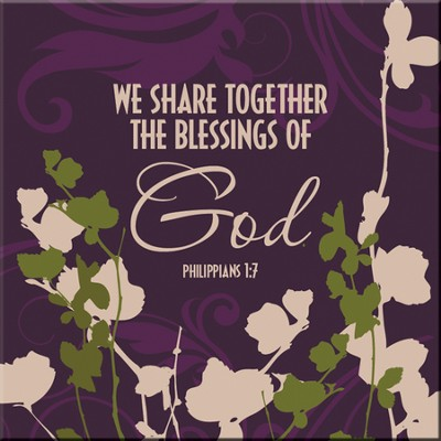 We Share Together the Blessings Magnet  -
