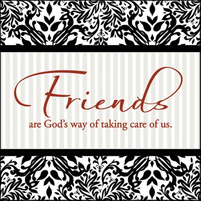 Friends Are God's Way Magnet  -