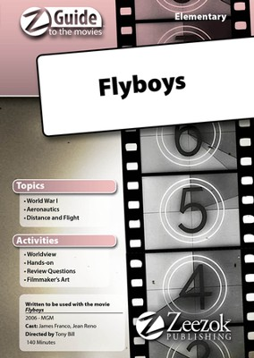 Flyboys Elementary Movie Guide CD Z-Guide to the Movies  -