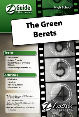 The Green Berets Movie Guide CD Z-Guide to the Movies  -