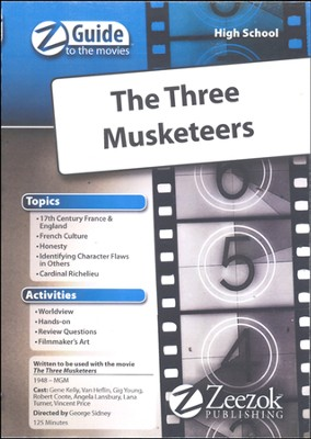 The Three Musketeers Movie Guide CD Z-Guide to the Movies  -