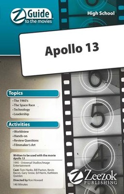 Apollo 13 Movie Guide CD Z-Guide to the Movies  -