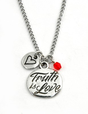 Truth is Love Necklace  -
