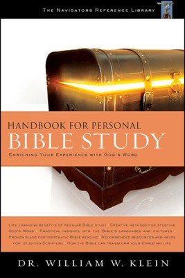 Handbook for Personal Bible Study - Slightly Imperfect  -