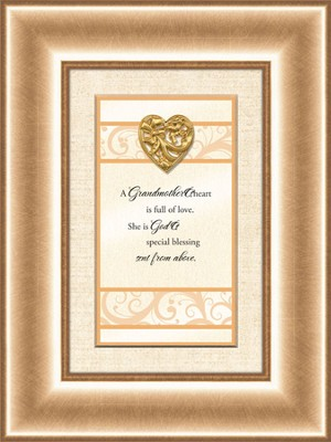 Heart Prints, Grandmother's Heart, Framed Print  -