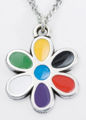 Colors of Salvation--Flower Pendant   -
