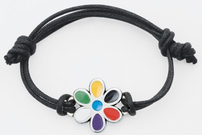 Colors of Salvation, Flower Bracelet  -