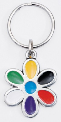 Colors of Salvation, Flower Keyring  -