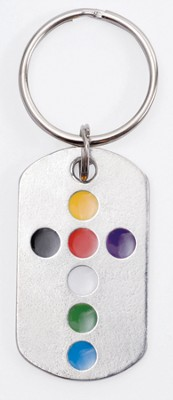 Colors of Salvation, Tag Keyring  -