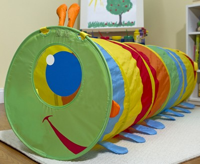 Happy Giddy Caterpillar Tunnel   -