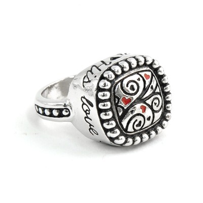 His Love Endures Forever Ring, Size 5  -