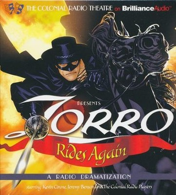 Zorro Rides Again: A Radio Dramatization on CD  -     Narrated By: Jerry Robbins, Deniz Cordell     By: Johnston McCulley, D.J. Arneson