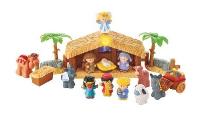 Little People Nativity Set  -