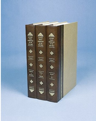 Matthew Poole's Commentary, 3 Volumes   -     By: Matthew Poole