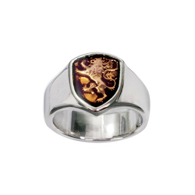 Lion Shield, 1 Corinthians 16:13 Ring, Size 10  -