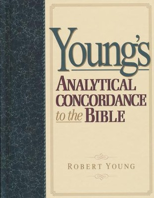 Young's Analytical Concordance to the Bible   -     By: Robert Young