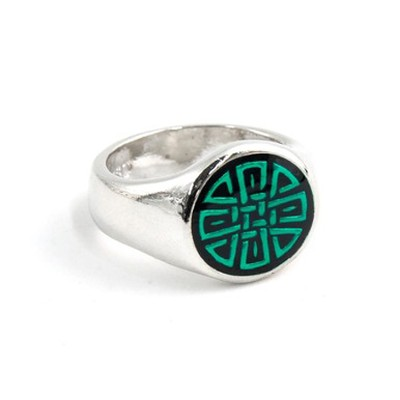 Purity Celtic Ring, Size 13  -