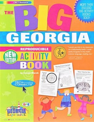 Georgia Big Activity Book, Grades K-5   -