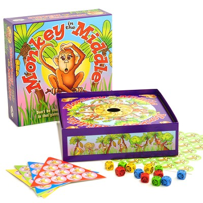 Monkey In the Middle Game   -