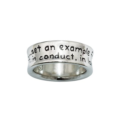 Set An Example, Purity Ring, Size 8  -