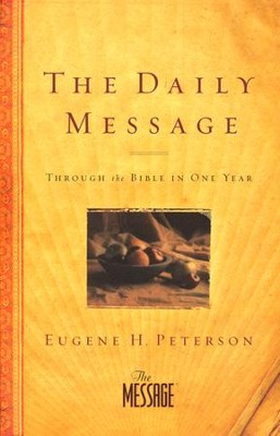 The Daily Message, Paperback  - Slightly Imperfect  -