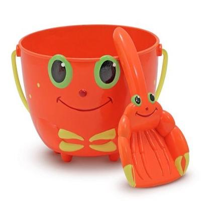 Clicker Crab Pail and Scoop  -