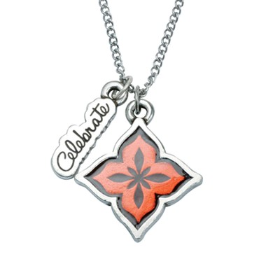 Women of Faith, Celebrate, Psalm 33:21 Pendant  -