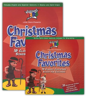 Christmas Favorites Valu-Pack CD/DVD   -     By: Cedarmont Kids