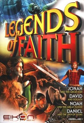 Legends of the Faith Comic #1 - Stories of Jonah, Noah, and Daniel  -